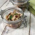 Straccetti di pollo con pomodorini e basilico
