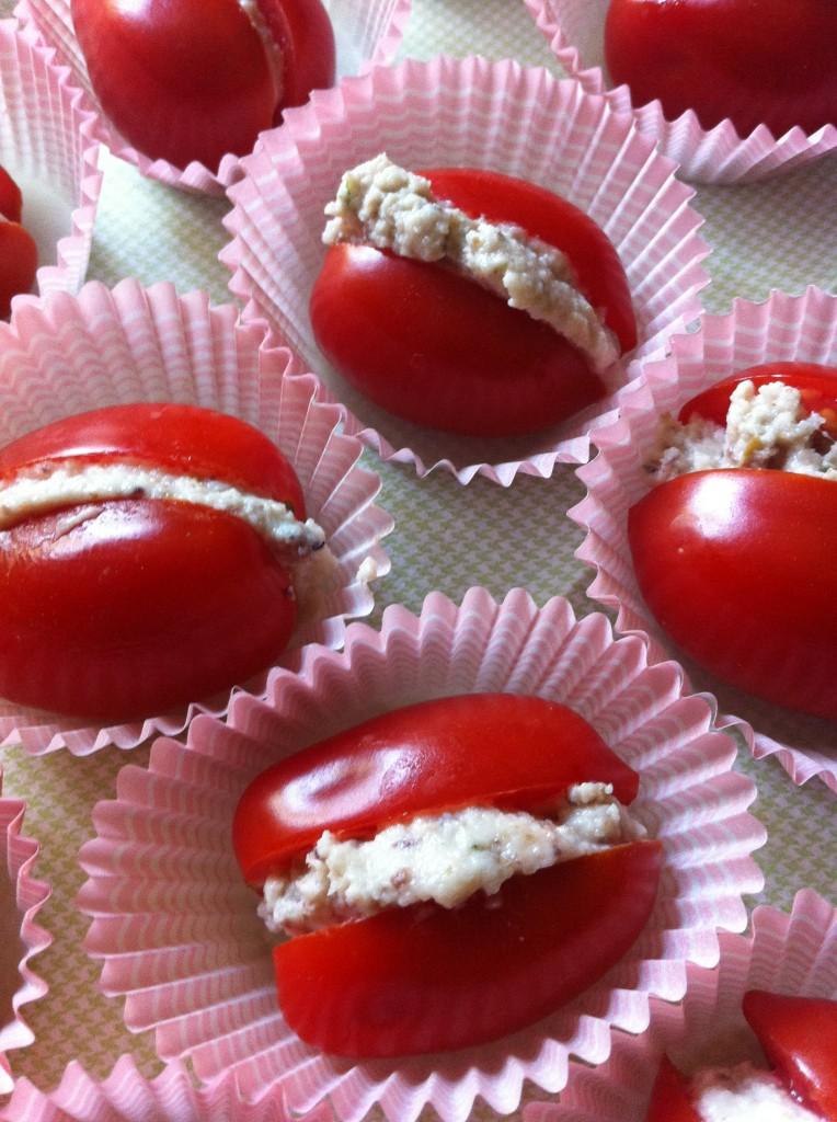 pomodorini alla crema di bufala
