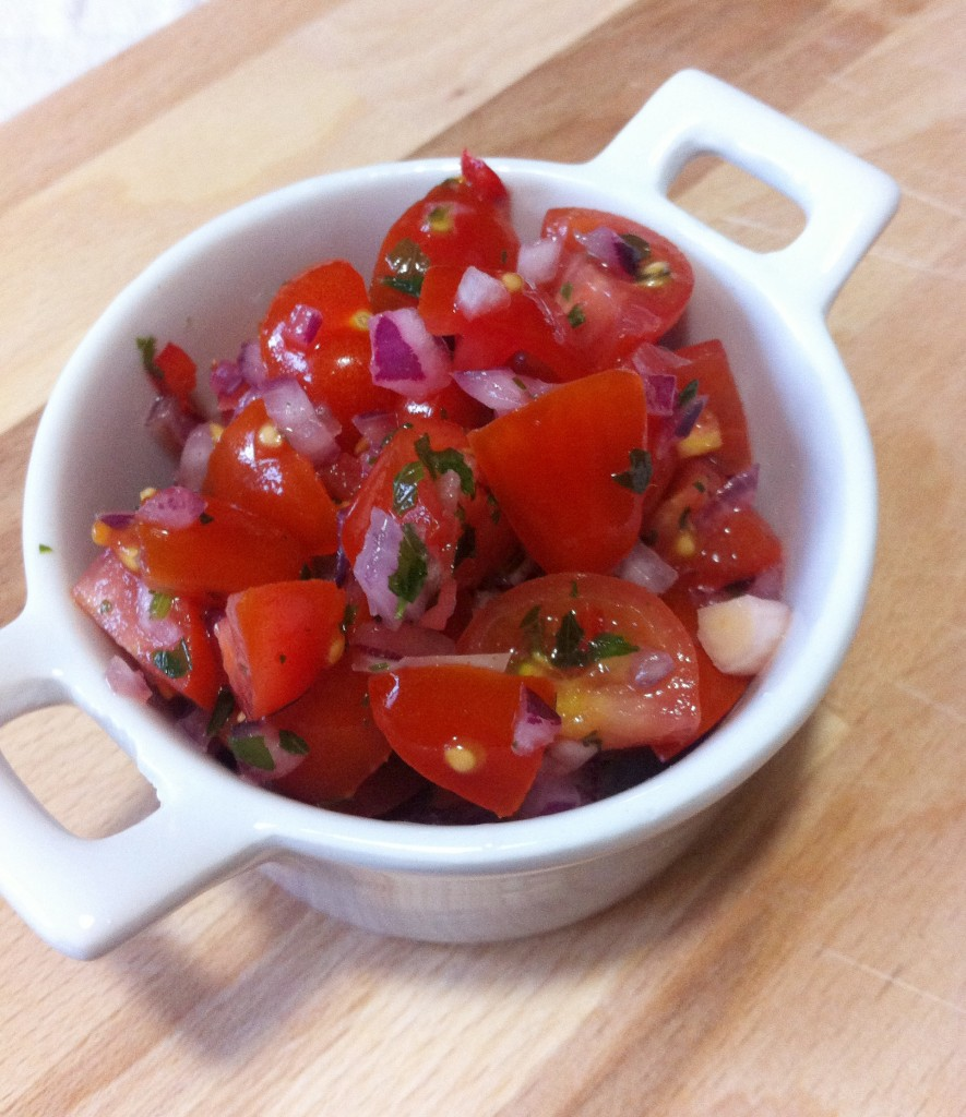 salsa di pomodori messicani