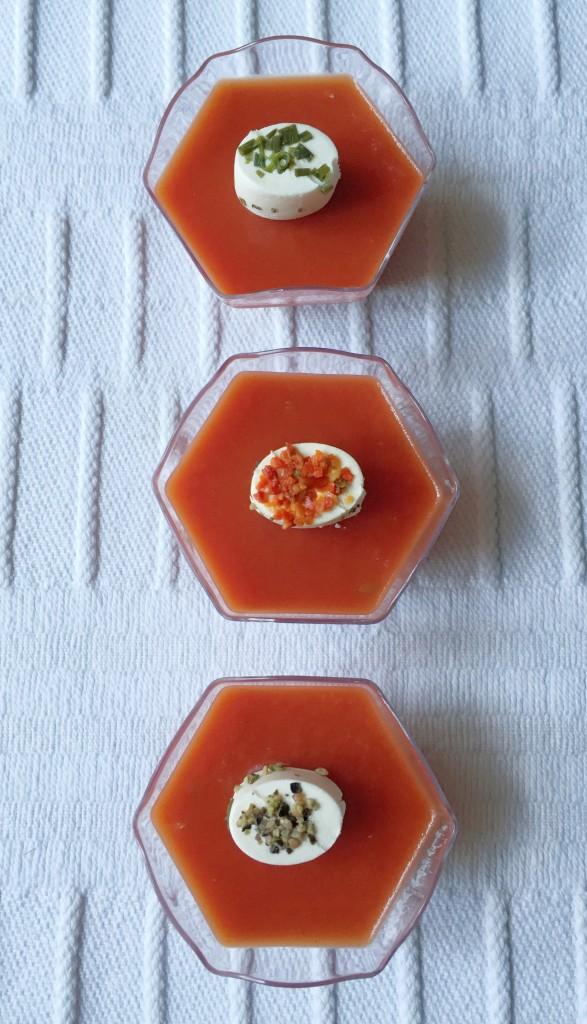 gelatina di pomodoro