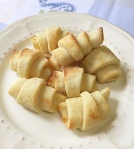 Mini croissant di patate   Le ricette di Michi