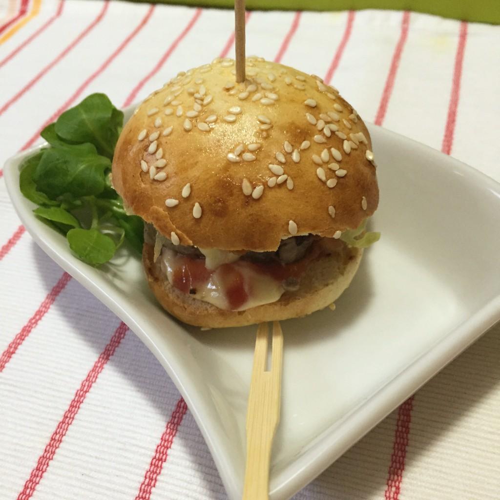 hamburger home made