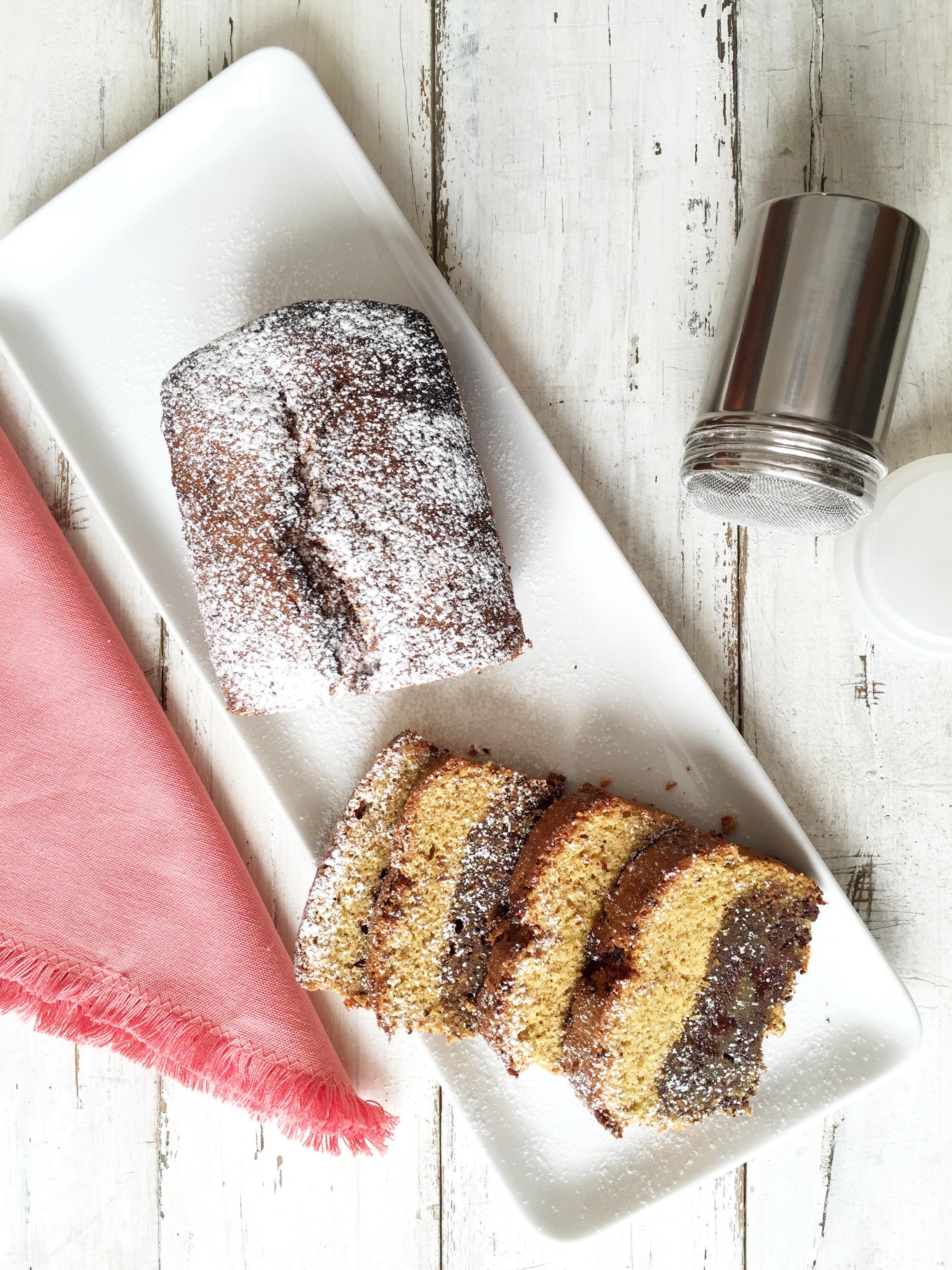 plumcake al cioccolato gluten free