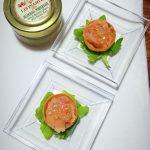 mini tartine al salmone