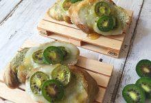 Crostini agli spinaci, Taleggio e Nergi