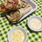 mini coni di kebab al pollo