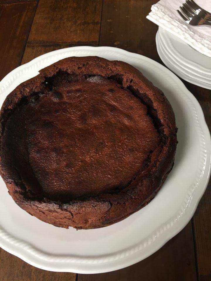 Mousse di cioccolato al forno
