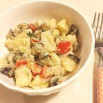 gnocchi di stracchino con verdure