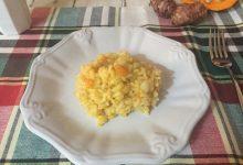 Risotto con topinambur, zucca e Gorgonzola