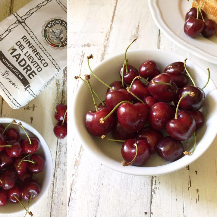 torta alle rose con ciliegie di Vignola