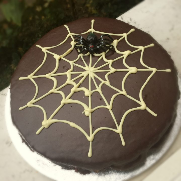 torta al cioccolato di halloween