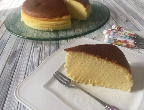 Cotton cake – cheesecake giapponese