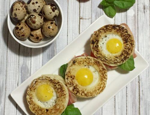 Mini Toad-in-a-hole sandwich per il Club del 27