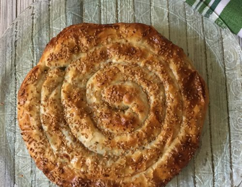 Torta salata a spirale