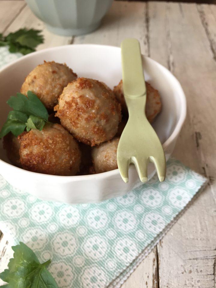 Polpette di merluzzo e patate alle olive