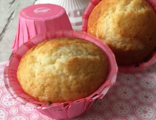 Muffin alla vaniglia