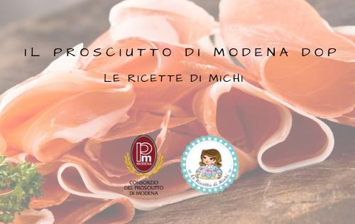 Il Prosciutto di Modena DOP a tavola