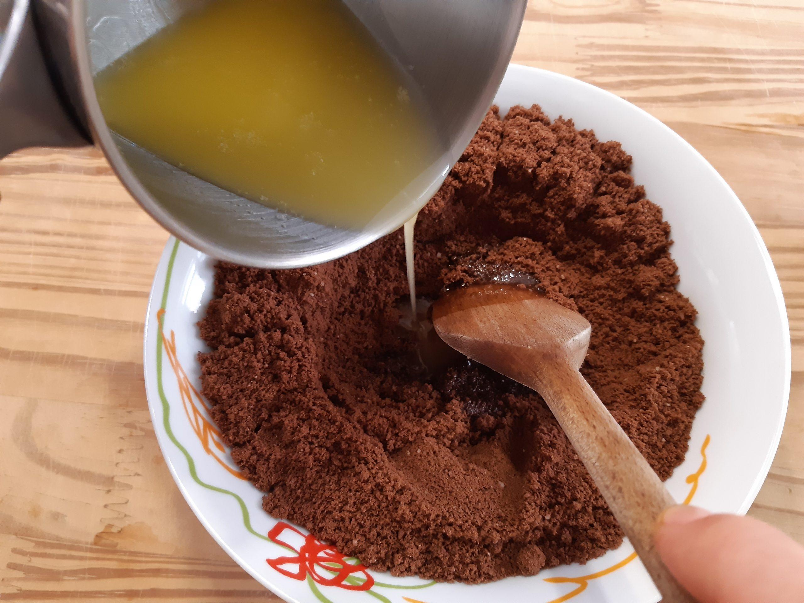 base cheesecake coppa del nonno