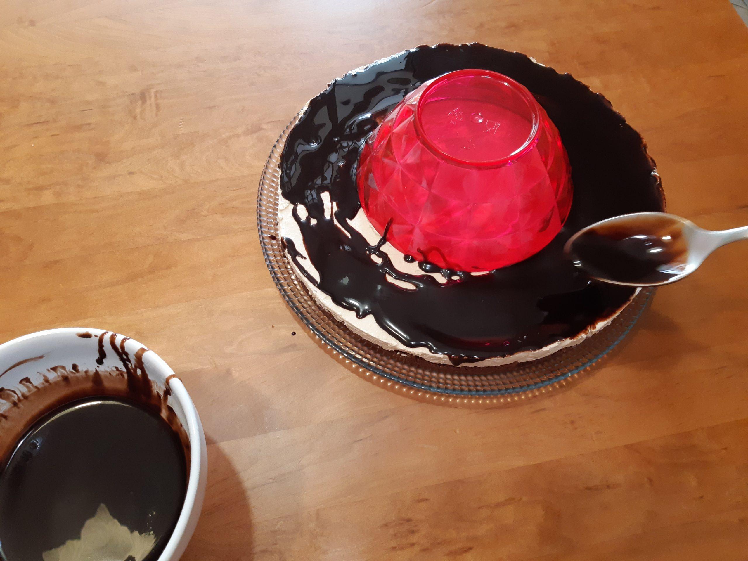 decorazione cheesecake coppa del nonno