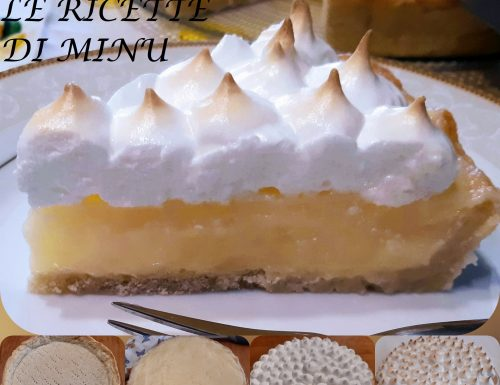 Lemon meringue pie – crostata meringata al limone
