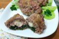 Involtini di carne con spinaci e prosciutto