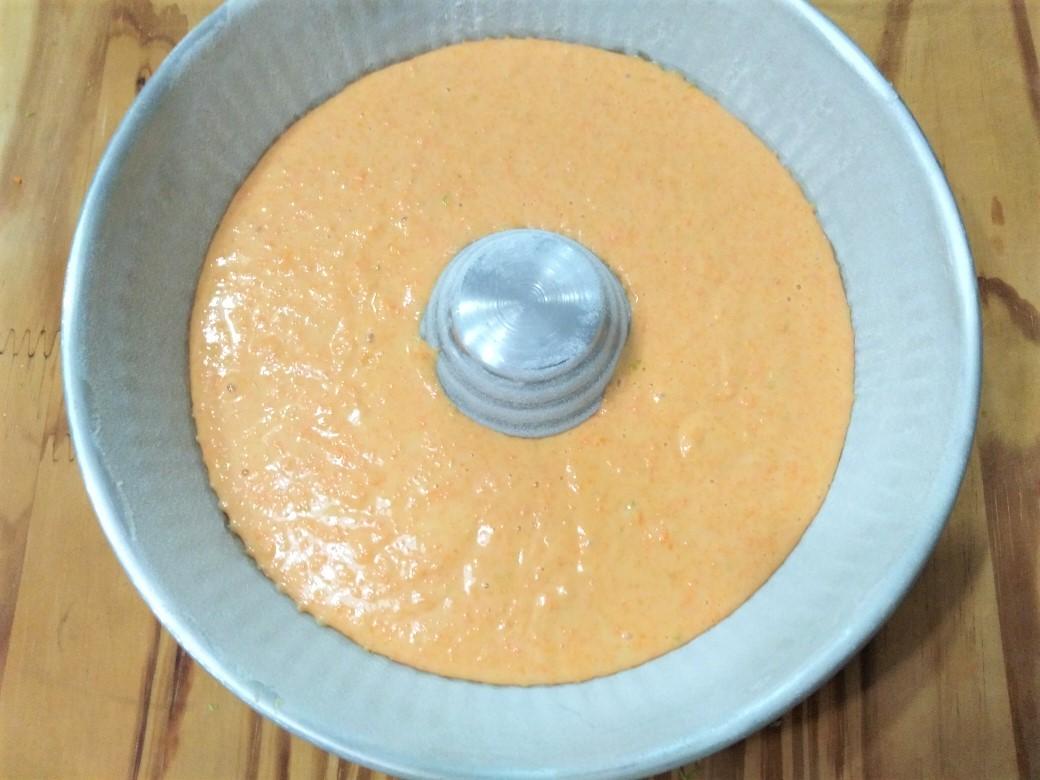 Ciambella alle carote al profumo di limone