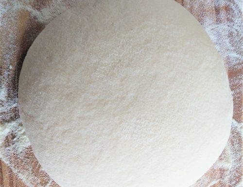Impasto per pizza con lievito secco