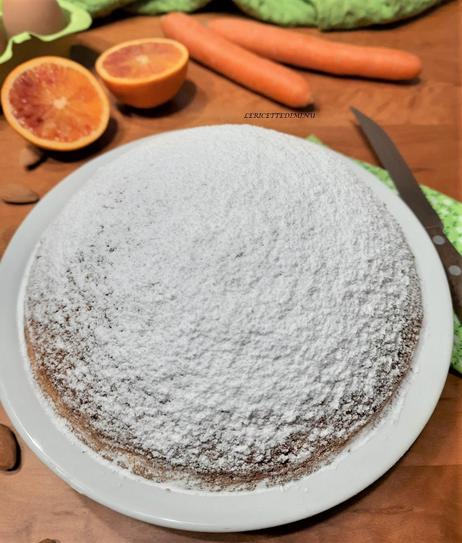 torta camilla carote e mandorle