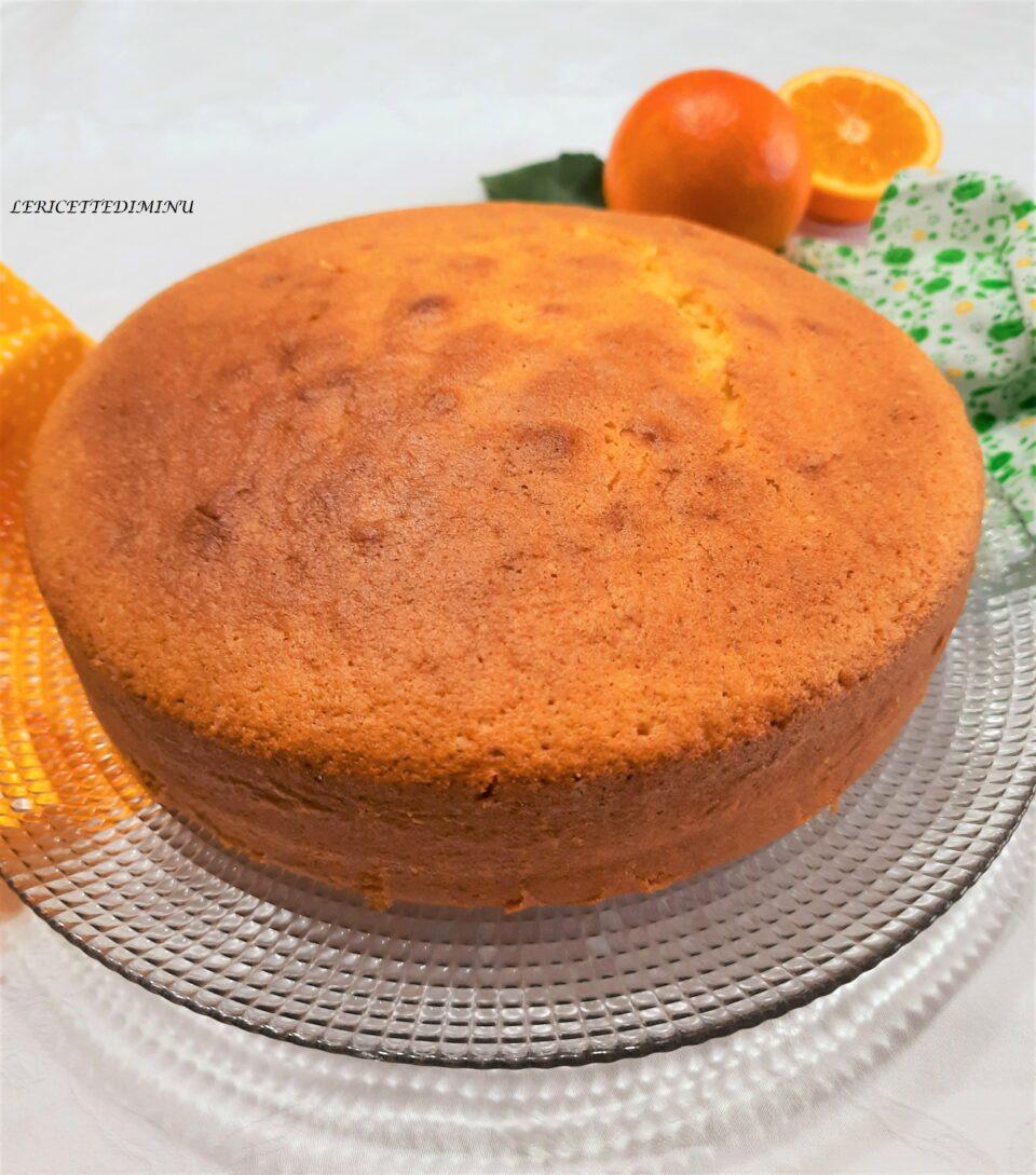 Ricetta torta all'arancia soffice e senza burro