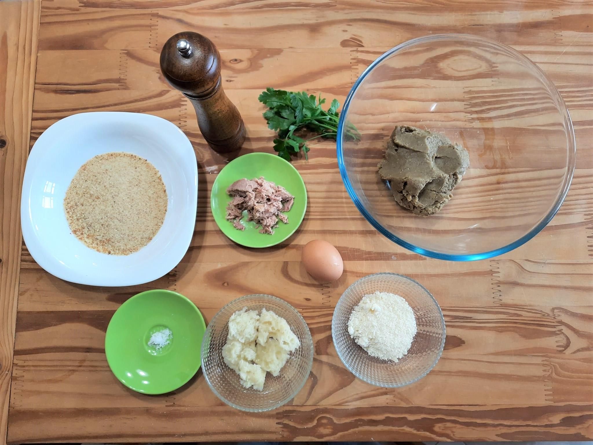 Polpette di lenticchie e tonno