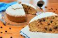 Torta mandorle e gocce di cioccolato senza burro