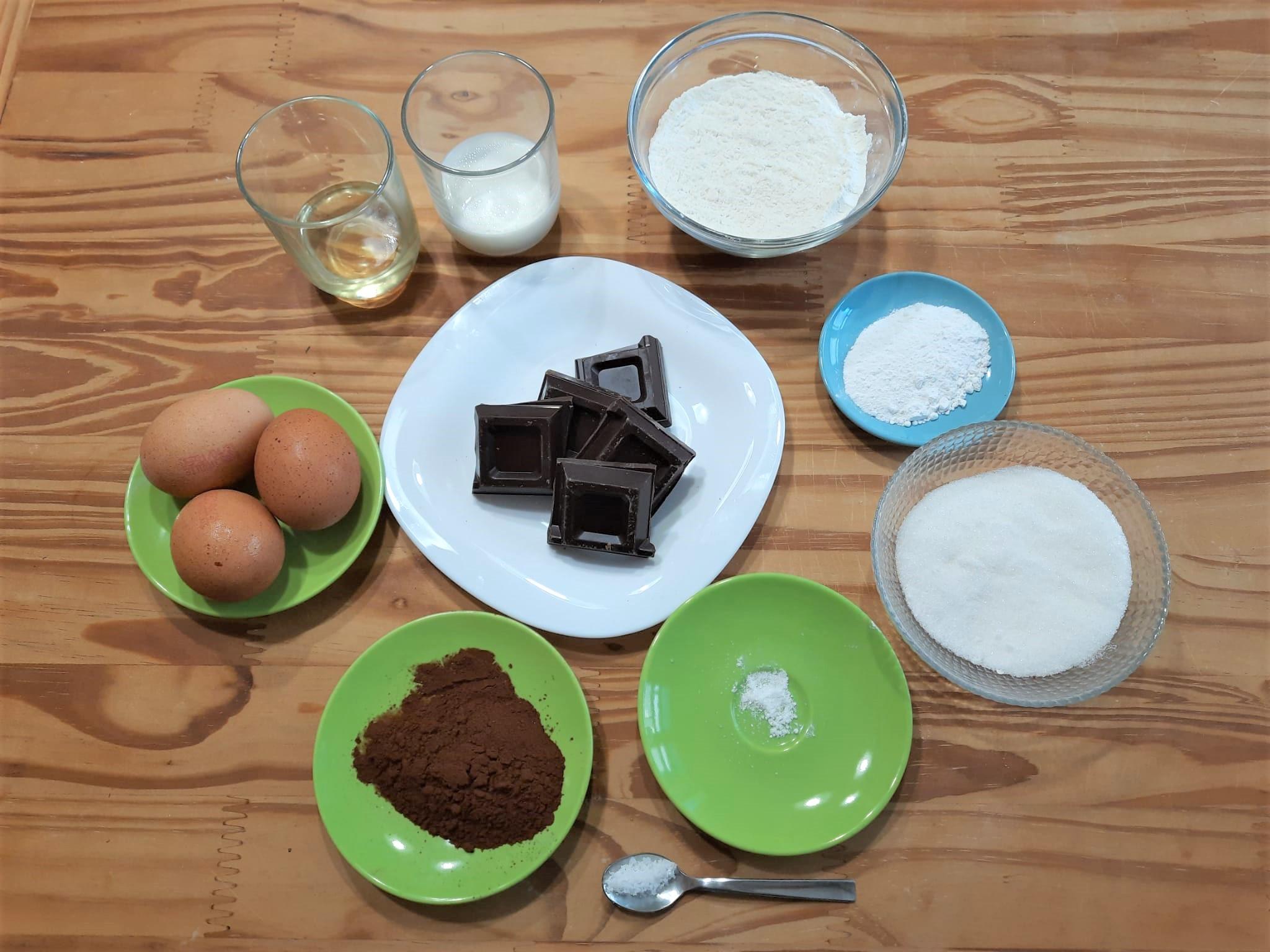 Crostata morbida cioccolato