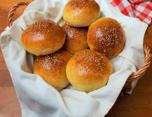 Ricetta panini americani per hamburger
