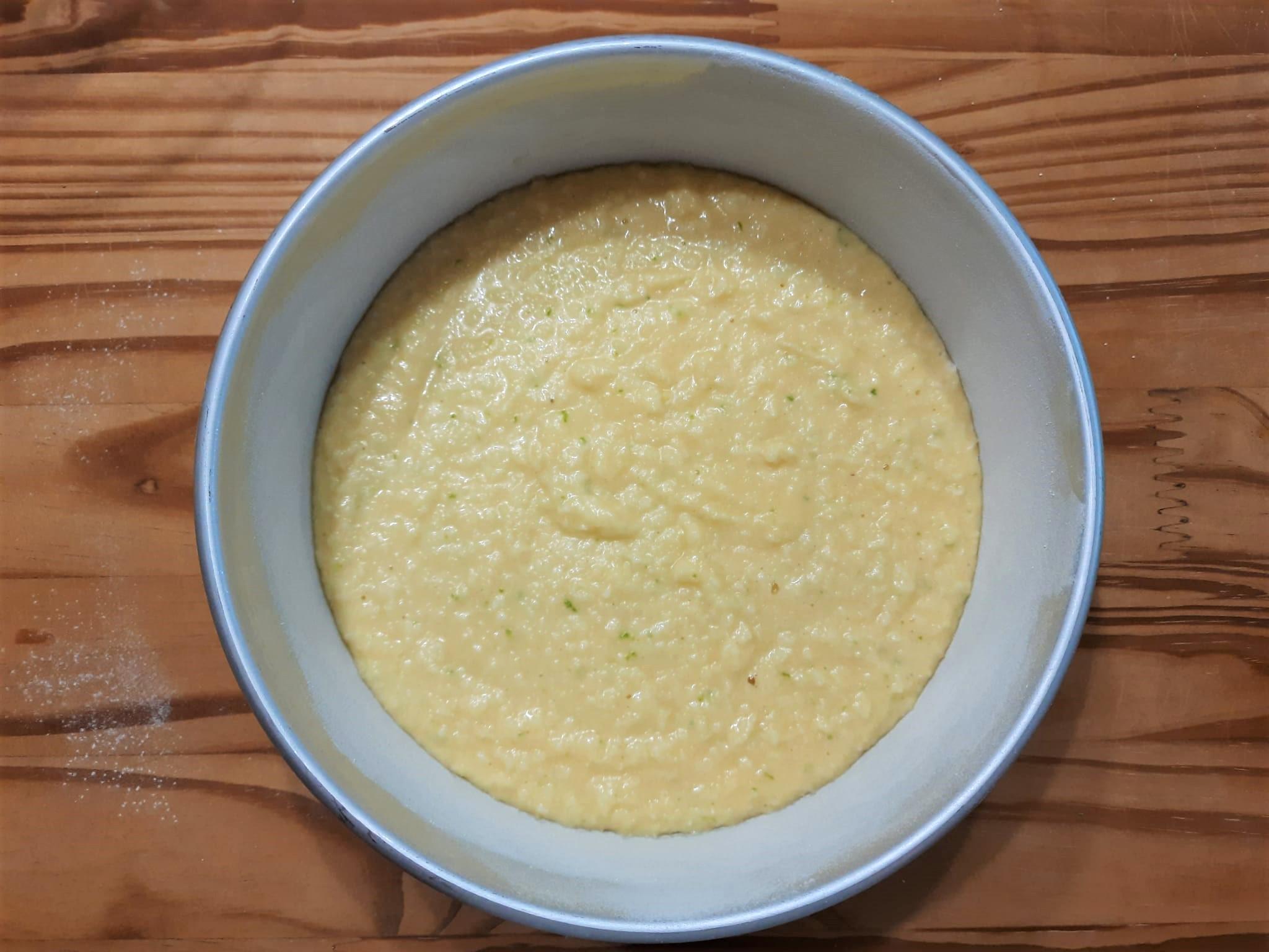 Torta cocco e limone con glassa