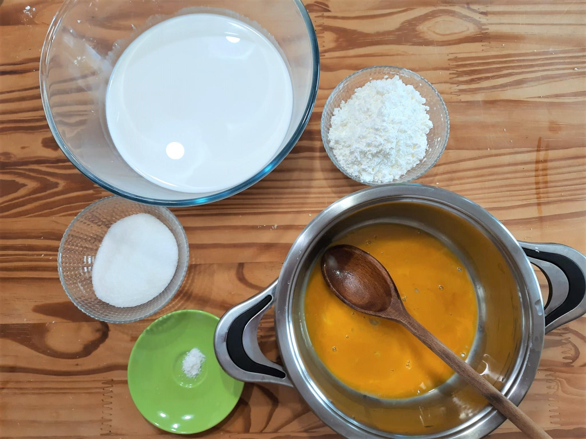 Crema pasticcera senza lattosio