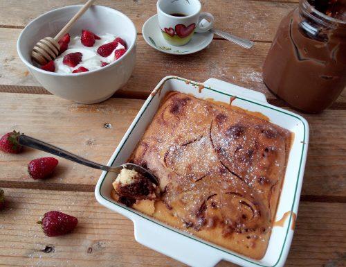 Torta pancake al forno