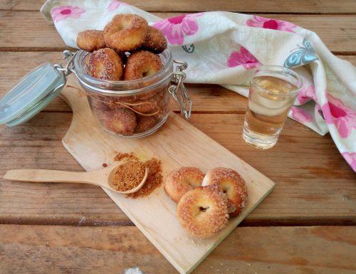 Tarallini dolci con esubero di lievito madre