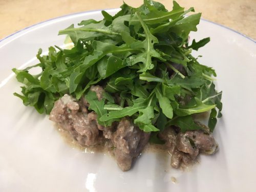 Straccetti al Gorgonzola