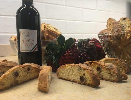 Buon Natale con ….I cantucci col Vin Santo!