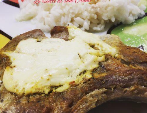 Bistecche di maiale al forno