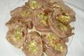 Rotolo di Tacchino con Frittata di Piselli