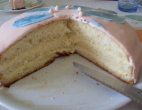 Torta Anniversario con Crema al Limoncello