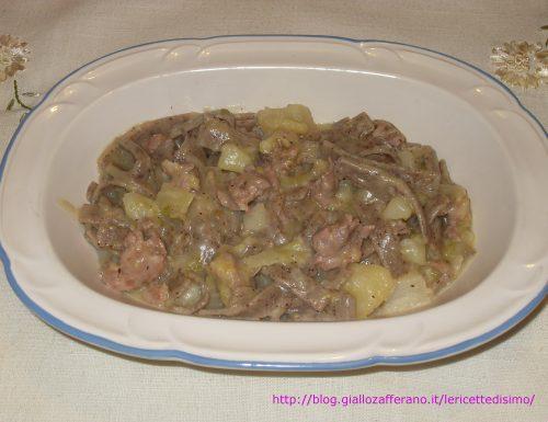 Pizzoccheri con Patate, Verza e Salsiccia