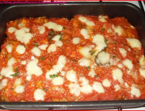 Parmigiana di Alici e Mozzarella di Bufala