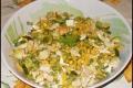 Insalata Ricca con Zucchine, Feta e Mais