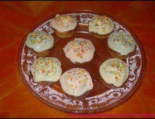 Cupcakes con Frosting alla Nutella e Mascarpone