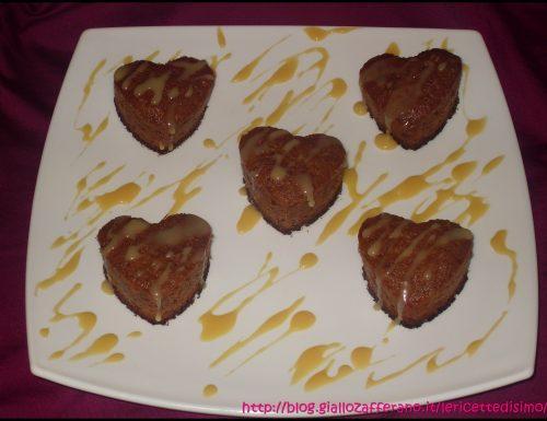 Dolci-Cuori alla Nutella e Cioccolato Bianco