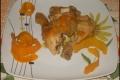 Cosce di Pollo all'Arancia