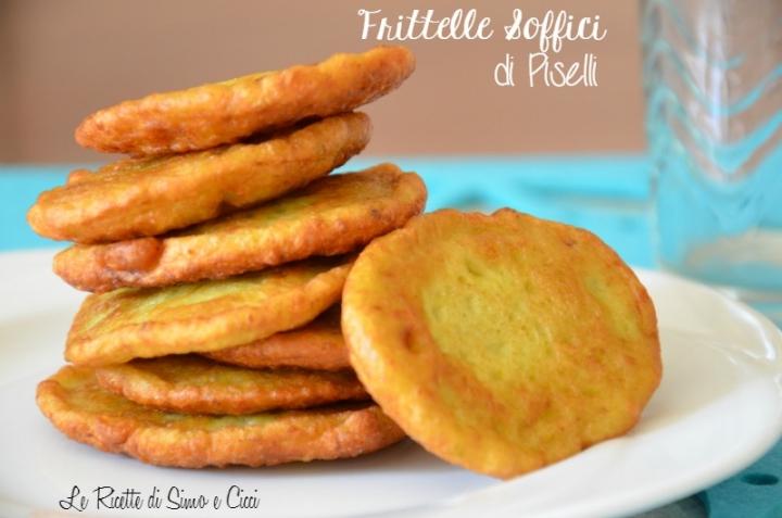 Frittelle Soffici di Piselli