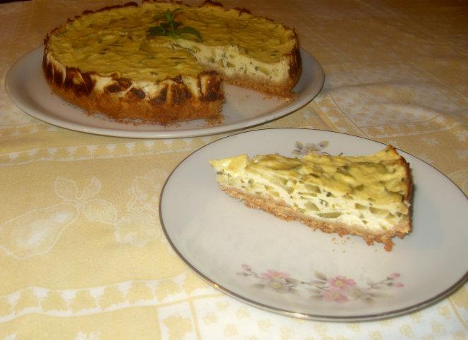 Cheesecake Salato alle Zucchine